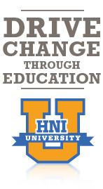 drive change through education
