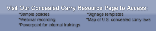 concealed carry resources for employers