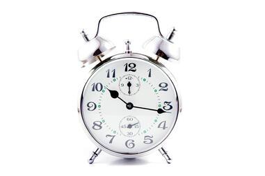 time ticking