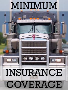 minimum insurance coverage