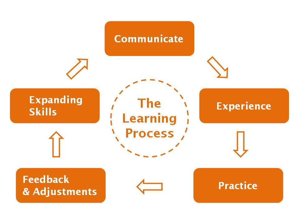 The Learning Process training employees