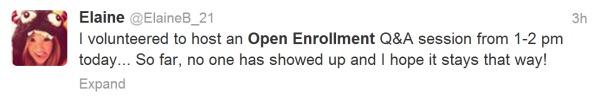 HR people hate open enrollment
