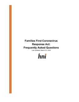 Families First FAQs